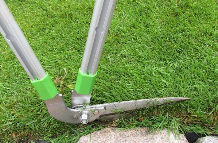 graskantenschaar loopschaar