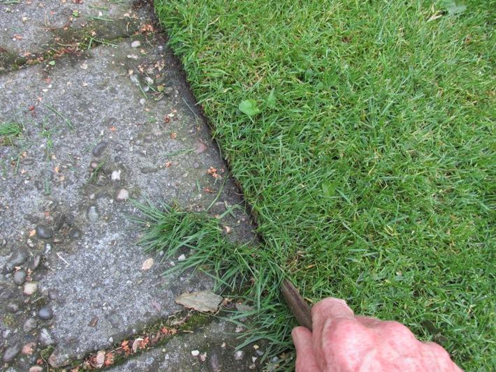 Graskanten verharding