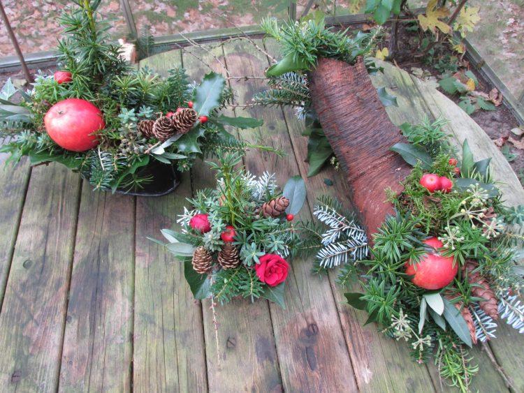 9 tips voor het maken van kerststukjes