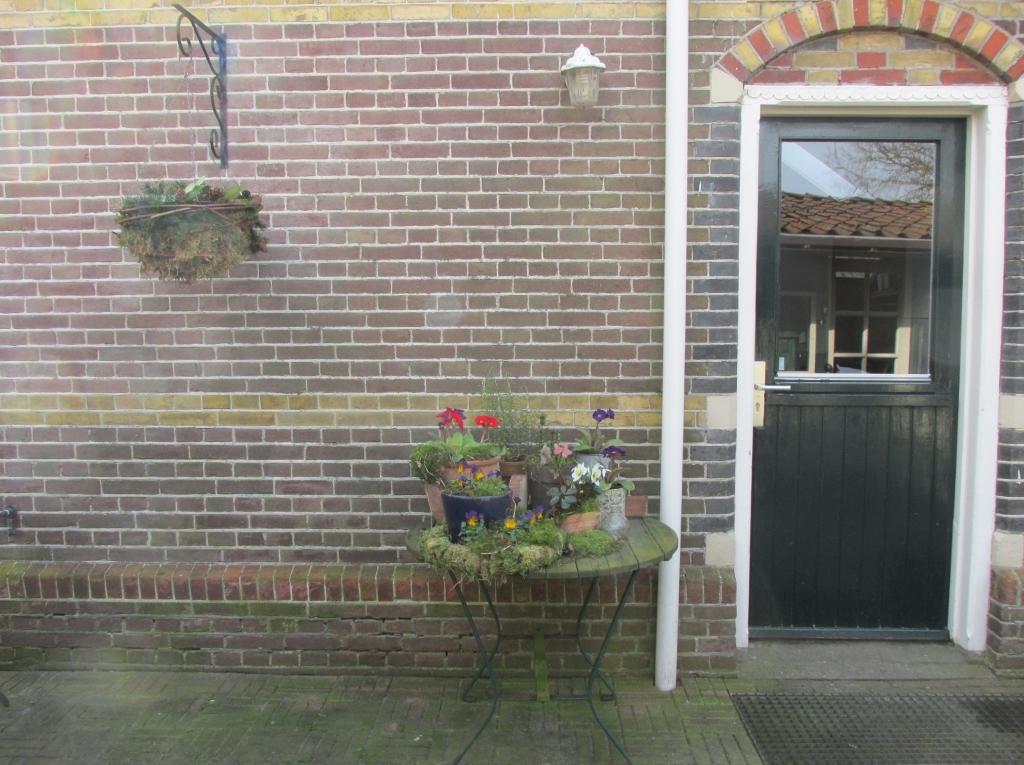 voorjaarstafel achterdeur