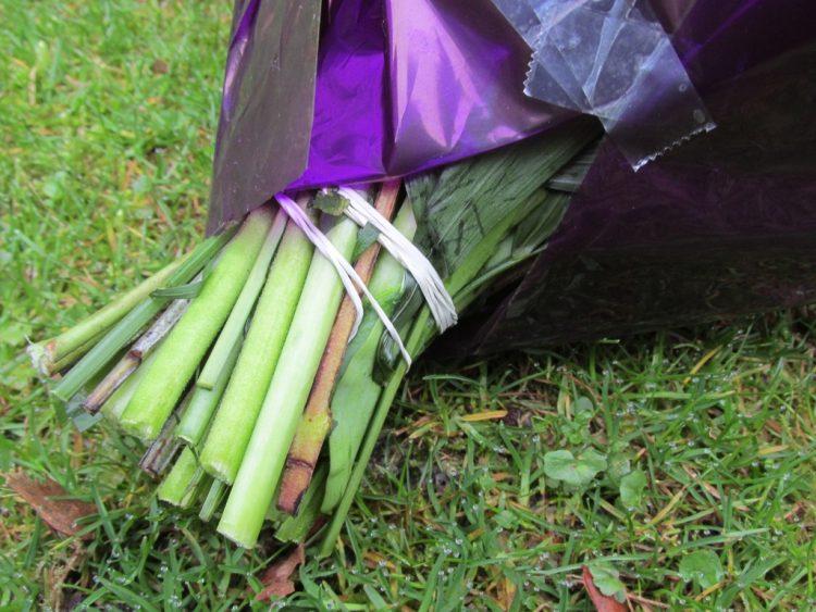 Moet je het elastiekje van je boeket bloemen afhalen?
