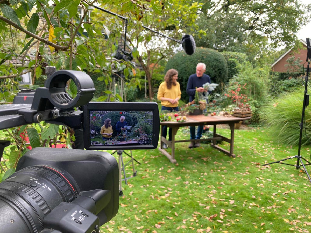 AJ en Linda camera workshop