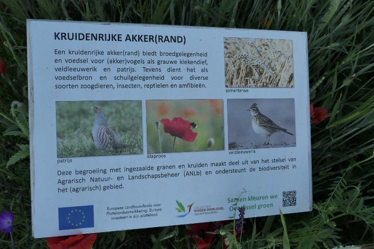 biodiversiteit bord